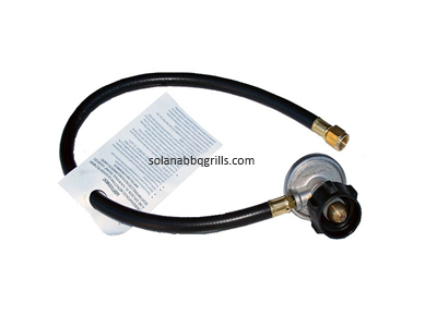 Bull BBQ 16508 LP Hose & Regulator