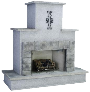 traditional-fireplace-ventless